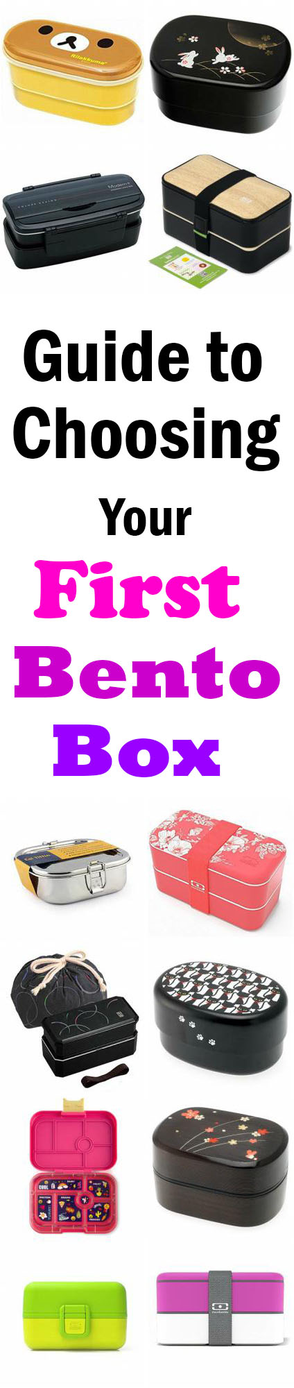 With over 12 different bento boxes to choose from, this is THE ultimate guide to choosing your very first bento box! Guaranteed to have the perfect match for your specific needs, no matter your age or gender. A great selection of traditional, modern, kid-friendly, low-maintenance, budget-friendly, and more! Get the full guide at loveatfirstbento.com