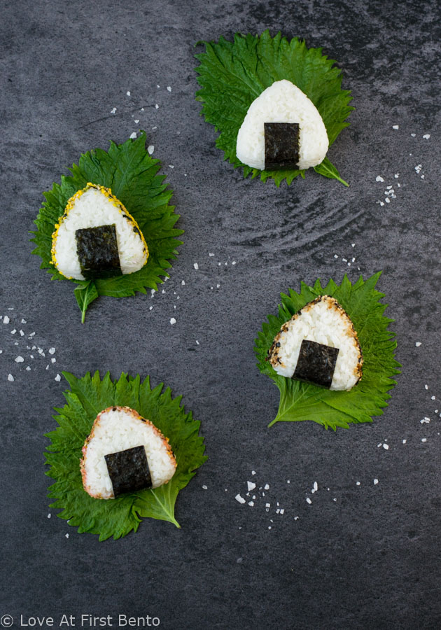 How to make japanese sticky rice balls