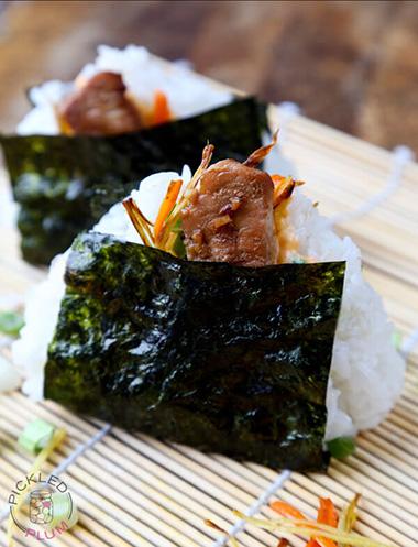 Chicken & Spicy Mayo Onigiri