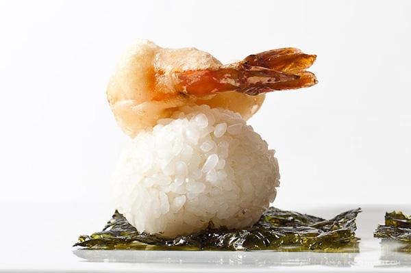 Ebi Tempura Rice Balls