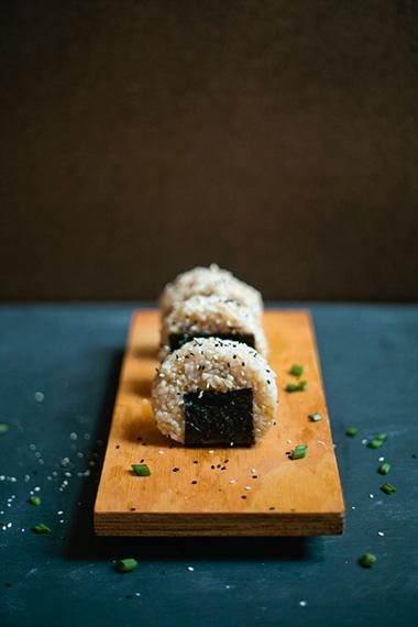 Honey & Bacon Onigiri