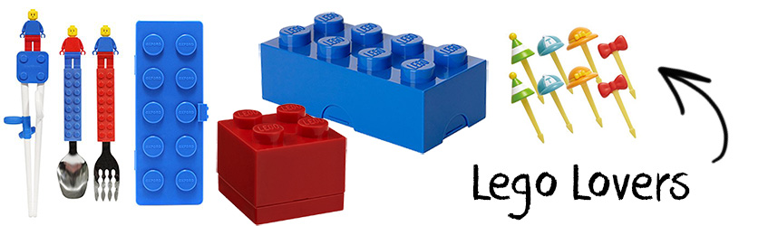 Lego lover bento box Christmas gift set
