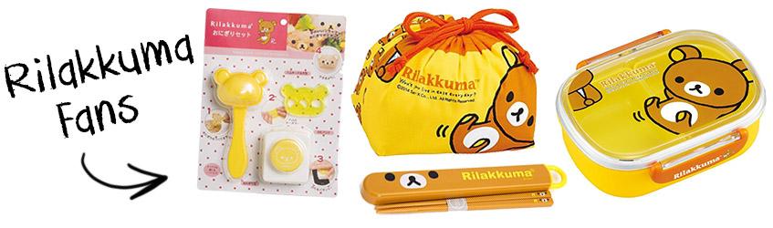 Rilakkuma fan bento box Christmas gift set