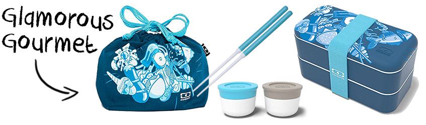 Gourmet Monbento Food Battle bento box Christmas gift set