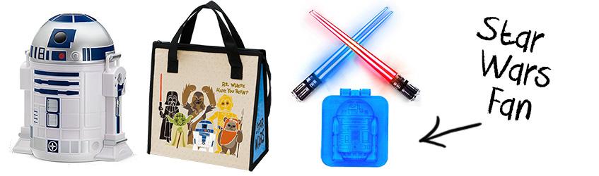 Star Wars R2-D2 bento box Christmas gift set