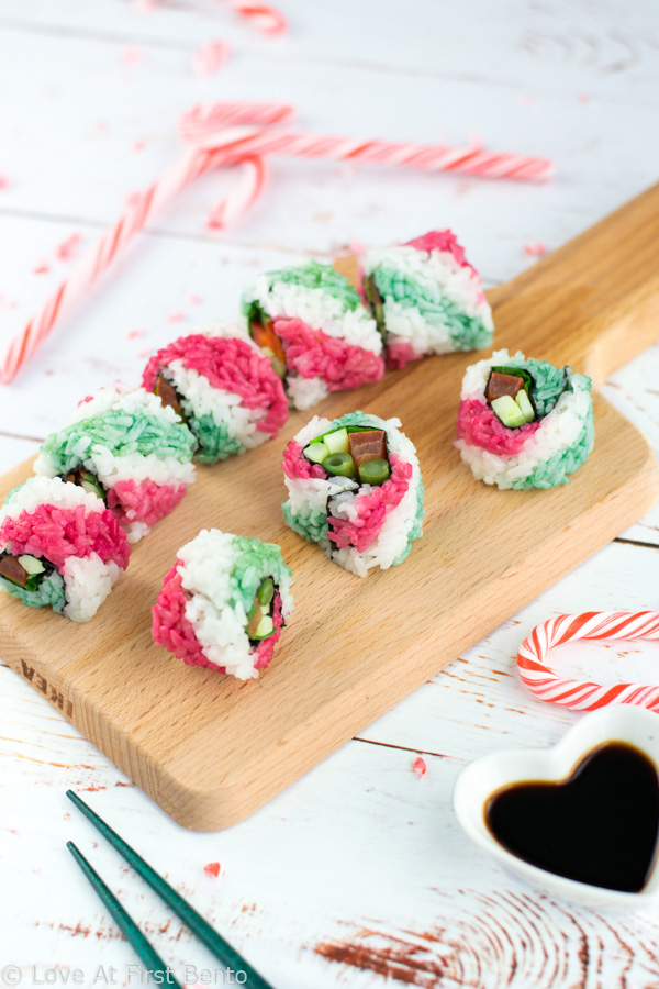 how to make candy sushi step by step