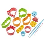 assorted fun shape food cutters