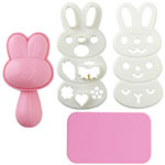 Bunny rabbit onigiri mold kit