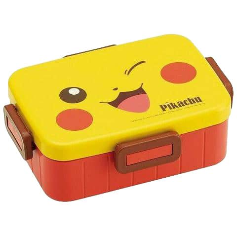 Pikachu face Pokemon bento box