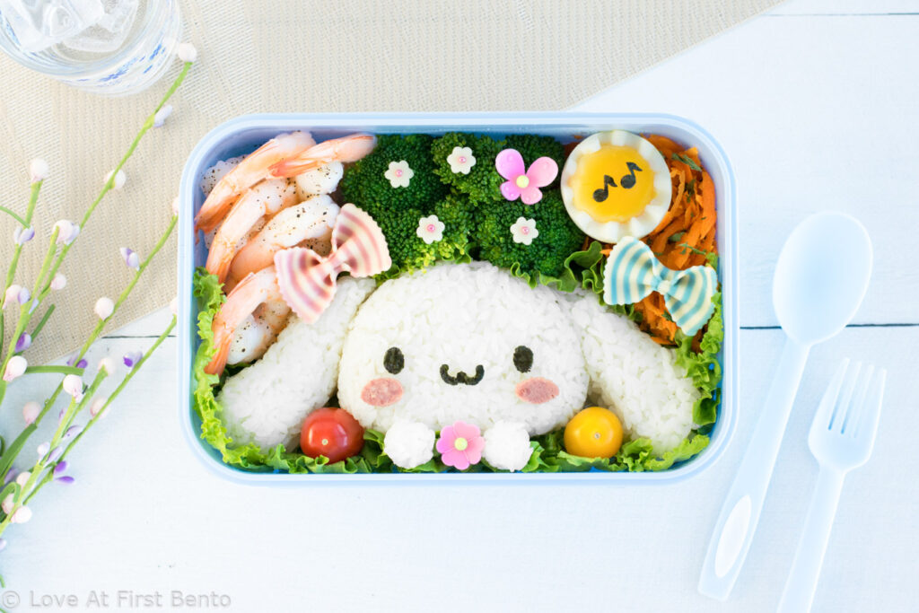 Cinnamoroll Rice Bento Box - Love At First Bento